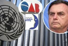 OAB denuncia Brasil na ONU e governo insiste em chamar 1964 de 'evento'