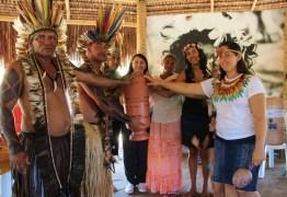Governo entrega benefícios ao povo indígena tabajara da aldeia de Conde