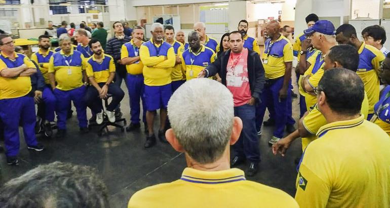 A ECONOMIA Sintect realiza assembleia de greve nos Correios 1.MOBILIZAÇÃO.Divulgação 1 - Empregados dos Correios decidem encerrar greve na Paraíba