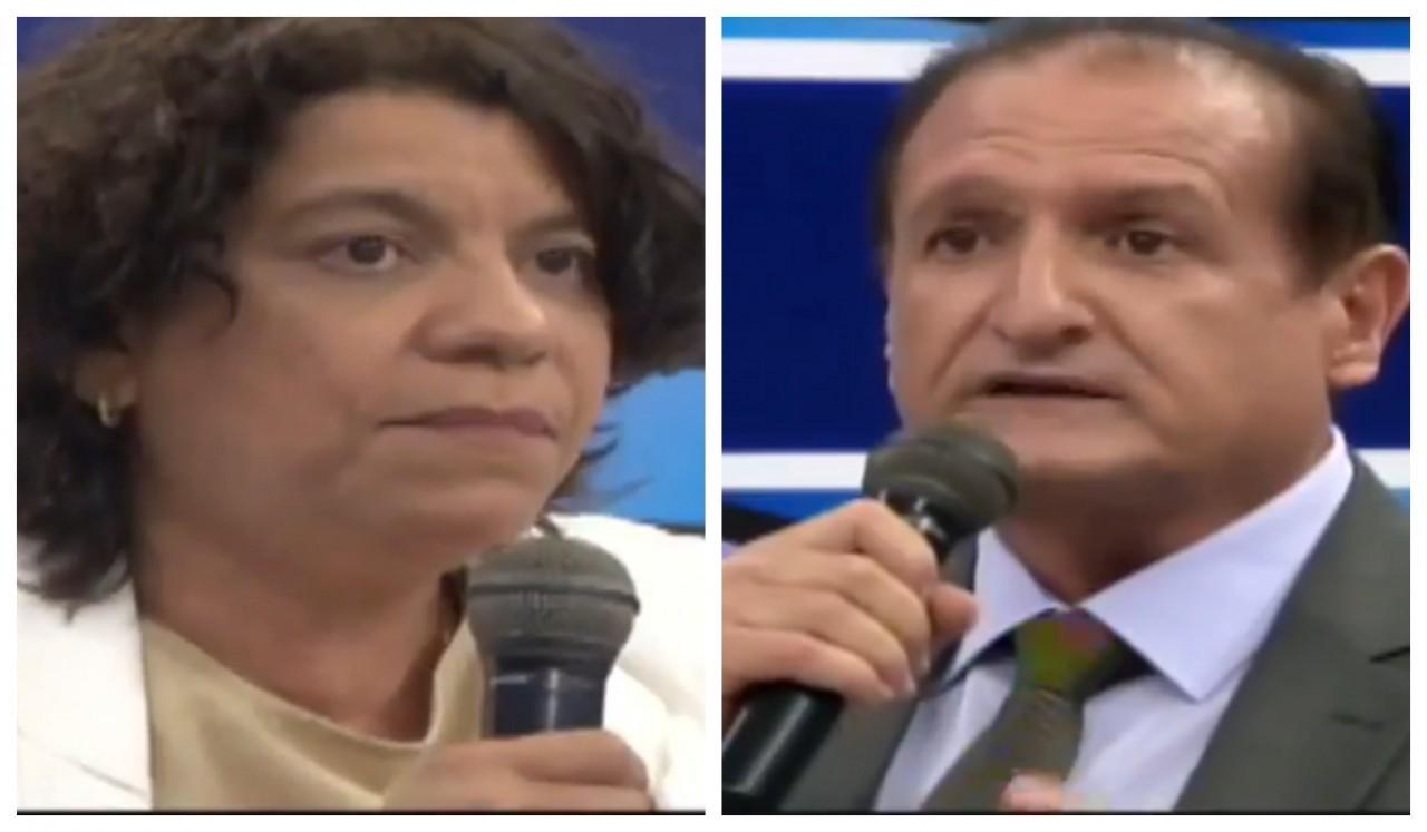 """BeFunky collage - RACHA NO PSB: Estela e Hervázio divergem sobre motivo da crise no partido e, o deputado dispara, """"ou fica João ou fica Ricardo"""""""