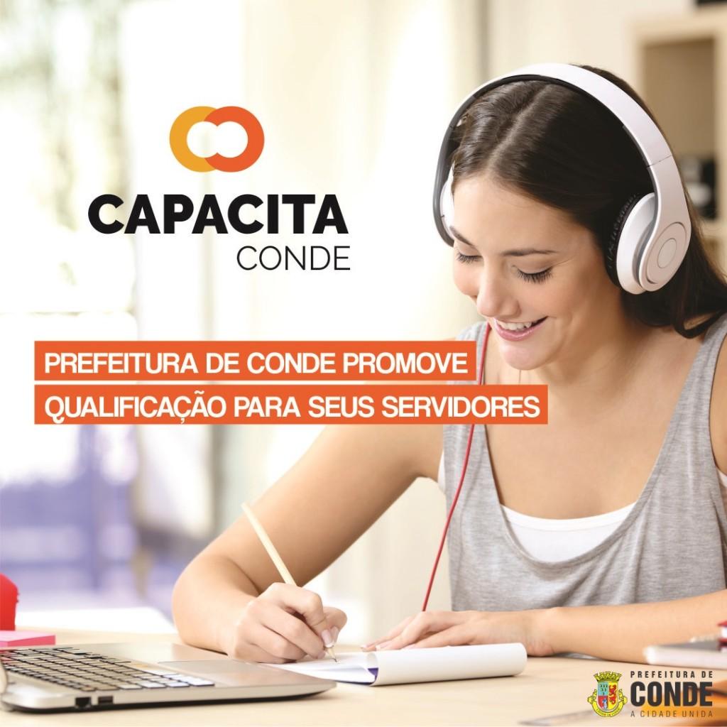Capacita Conde 1 - CAPACITA Conde abre nova turma de capacitação para servidores municipais