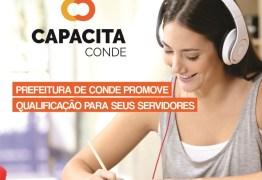 CAPACITA Conde abre nova turma de capacitação para servidores municipais