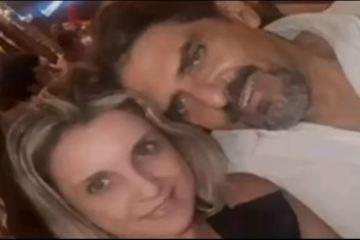 Feminicídio - Câmera flagra suspeito de feminicídio levando corpo baleado de empresária no elevador - VEJA VÍDEO