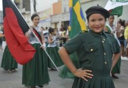 No dia da Independência do Brasil, Santa Rita realiza desfile cívico