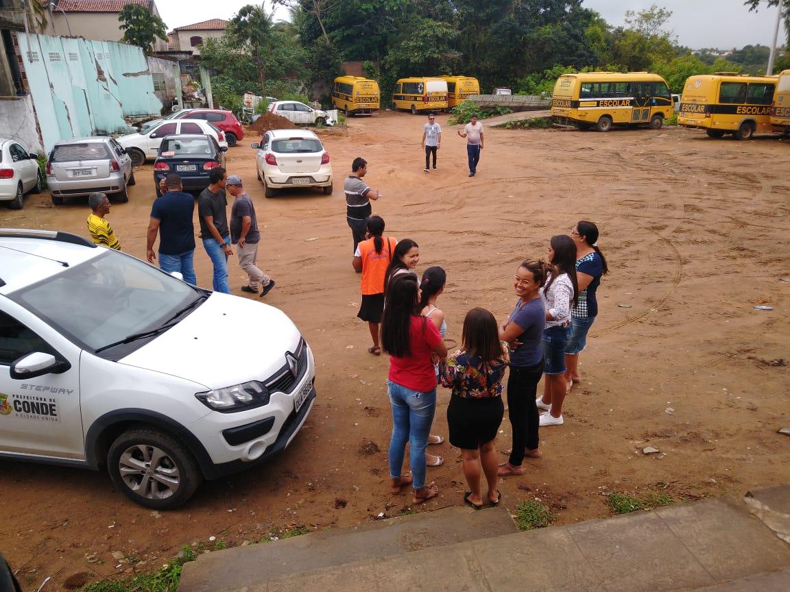 Segurança no ônibus escolares - Prefeitura de Conde amplia segurança no Transporte Escolar