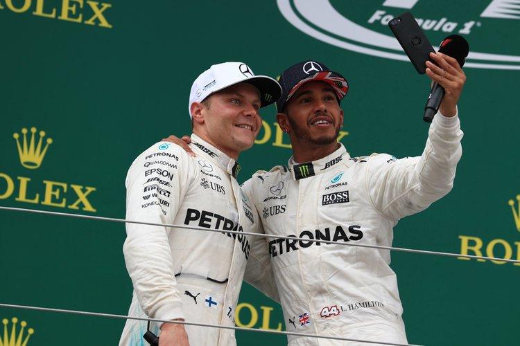 TCF Bottas Hamilton relationship differnt league - Hamilton consegue reverter bom resultado da Ferrari nos treinos e garante vitória na Rússia