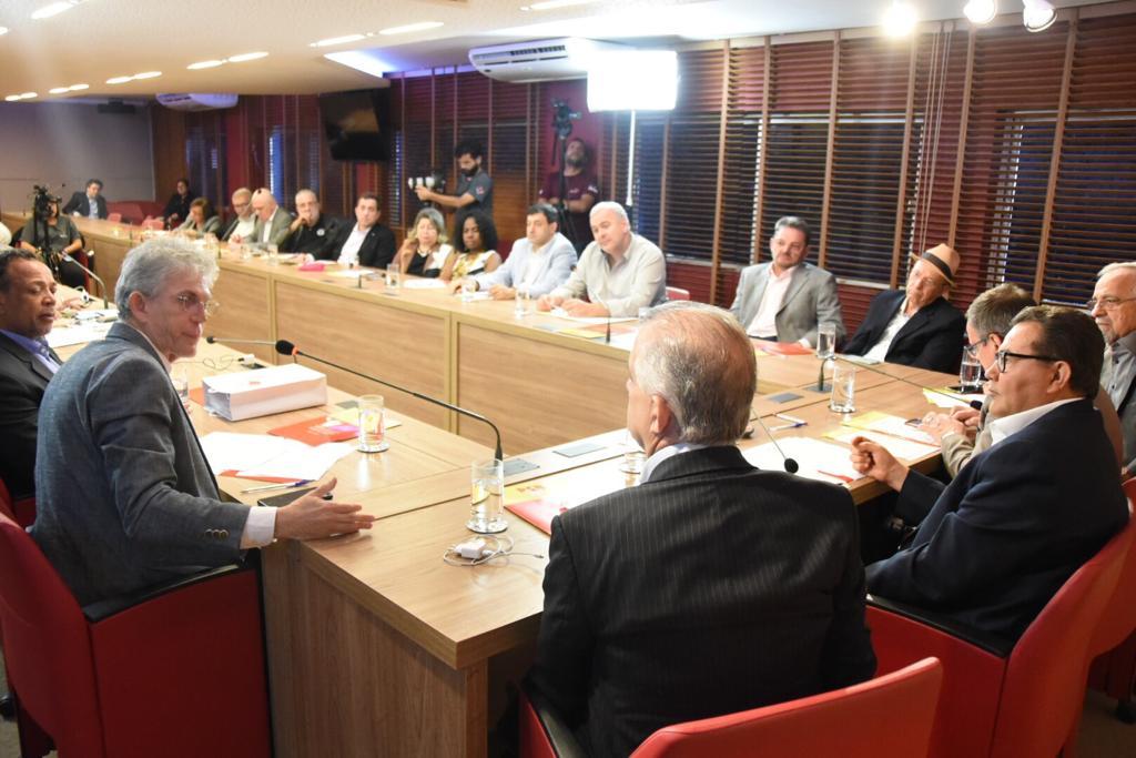 WhatsApp Image 2019 09 09 at 19.45.12 - DESFECHO DA REUNIÃO: executiva nacional nomeia Ricardo presidente da comissão provisória do PSB e João Azevêdo vice