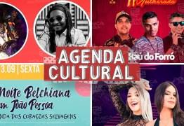 AGENDA CULTURAL: Acompanhe todos os eventos que acontecem neste fim de semana em João Pessoa
