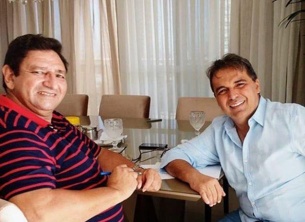 ZEZINHO E GENIVAL 620x452 - Ex-vereador Zezinho de Bola disputará prefeitura de Lagoa Seca pelo Avante