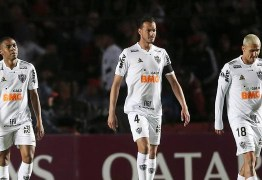 Atlético-MG toma virada em jogo contra o Cólon e segue em desvantagem