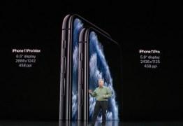 Apple lança novos Iphone 11, Pro e Pro Max; veja detalhes