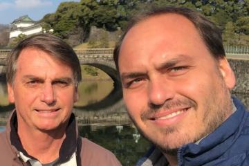 Bolsonaro defende declaração de Carlos sobre defesa da ditadura: 'Ele tem razão'