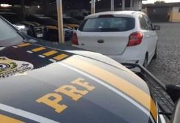 Homem é preso pela PRF tentando vender carro de aluguel na Capital