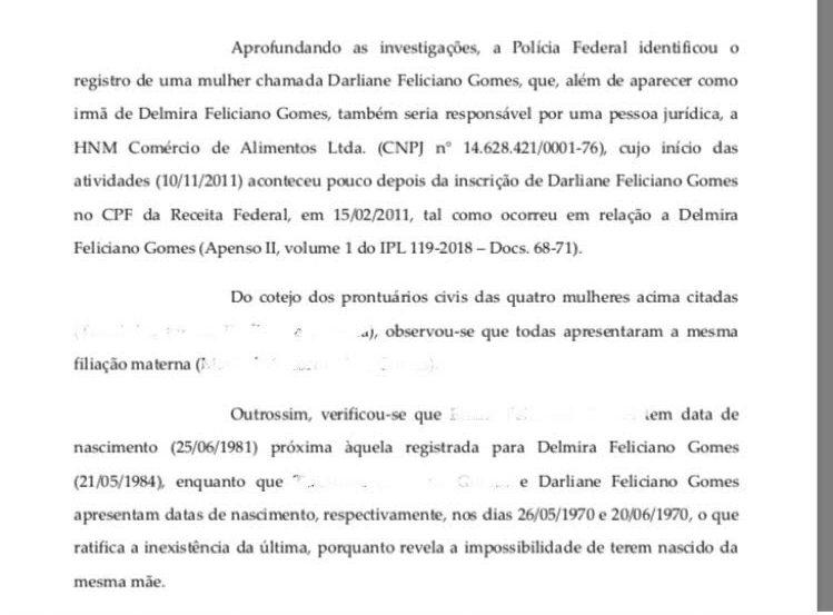 dado okk e1567598159875 - MILIONÁRIAS, CRIMINOSAS E NÃO EXISTEM: Irmãs fictícias descobertas por Operação Famintos foram denunciadas por sonegação fiscal - ENTENDA CASO