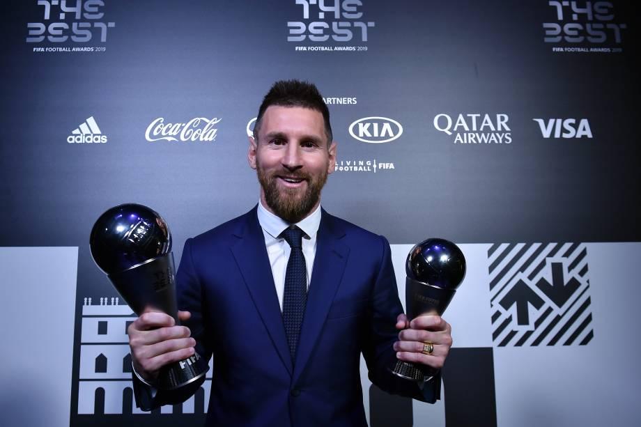 gettyimages 1176641606 - Lionel Messi é eleito o melhor do mundo pela sexta vez