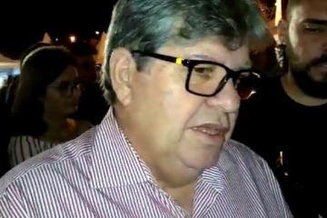 joão azevedo - 'AÇÃO IMPENSADA': João Azevêdo culpa intervenção no PSB por saída de prefeitos e filiados da sigla