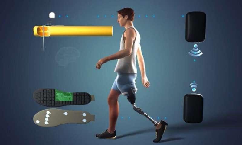 lega - Prótese permite que pessoas com pernas amputadas sintam pés e joelhos em tempo real