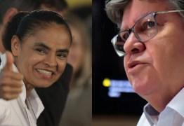 JOÃO AZEVEDO NA REDE? Marina Silva vem a Paraíba para formalizar convite ao governador do estado