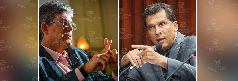 montagem581 - RICARDO X RICARDO - Líder do governo diz que ex governador está recheado de 'vaidade e egocentrismo'