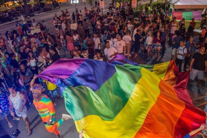 parada lgbt - EVENTO: Parada LGBTQI+ agita as ruas de Cabedelo