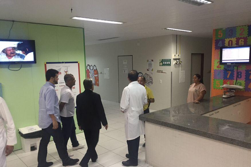 romario - MPF pede tutela provisória de urgência para garantir tratamento oncológico no Hospital Laureano