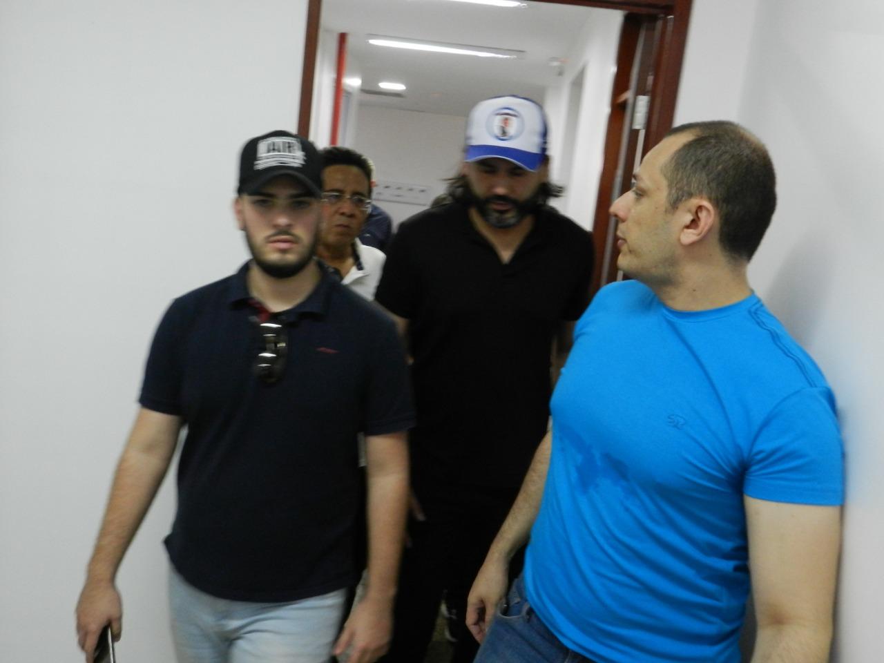 sobrinho 1 - Parente de Bolsonaro, 'Léo Índio' visita Paraíba e discute indicação de cargos federais no estado