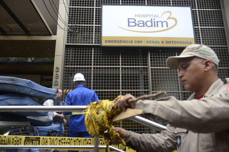 tnrgo abr 14091923104 - Após tragédia, Hospital Badim ainda tem 57 pacientes internados