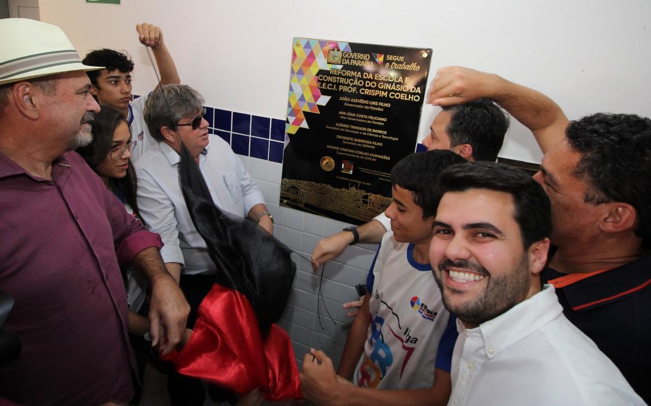 unnamed 5 - João Azevêdo entrega reforma e ginásio de escola cidadã integral em Cajazeiras