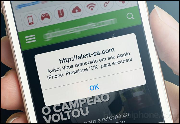 virusfalso - Você pode receber alertas de vírus falsos no celular - ENTENDA