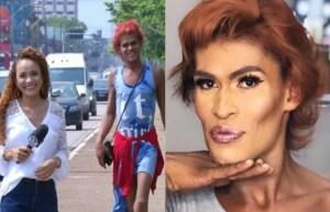 20191014200314249630e 300x193 - Após desfilar para câmera e viralizar na internet, moradora de rua ganha 'dia de princesa'