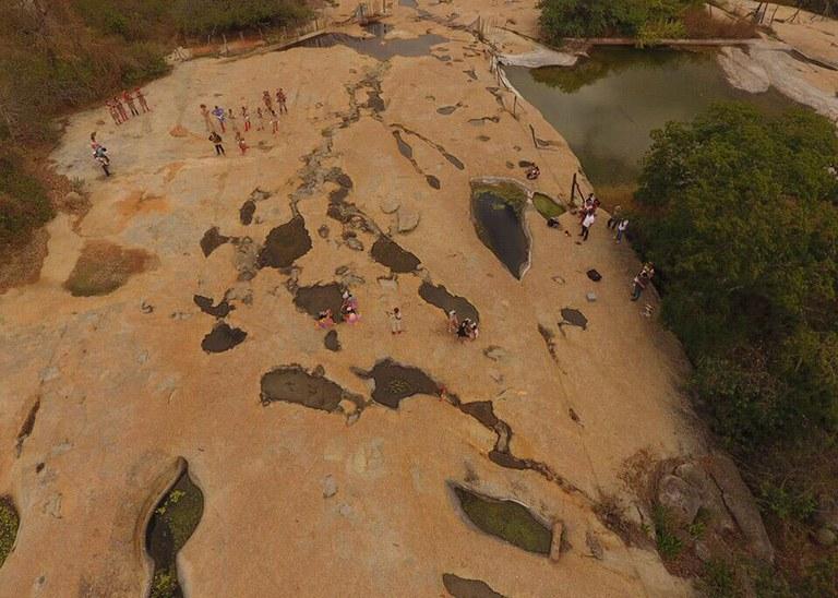 33572d86 2681 4bad 9e97 f1ff77ae616b - SOM DAS PEDRAS: Princesa Isabel recebe projeto cultural na Pedra do Guiné