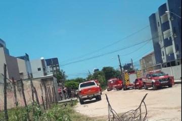 INCÊNDIO NOS BANCÁRIOS: Corpo de Bombeiros age para conter fogo em apartamento – VEJA VÍDEO