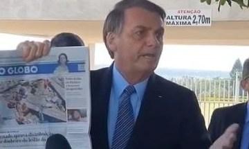 Bolsonaro nega existência de 'lista de traídores' no PSL, mas volta a pedir transparência no partido; VEJA VÍDEO