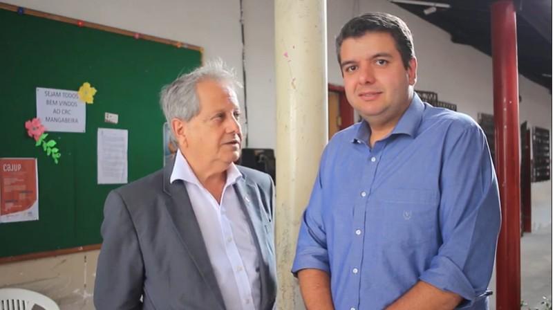 """Capturar 7 - """"Programa Viver"""": Diego Tavares anuncia projeto para pessoas idosas junto com secretário Antônio Costa - VEJA VÍDEO"""