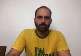 EDUARDO x JOICE: filho de Bolsonaro faz vídeo para atacar deputada e culpar Bivar por crise no PSL – VEJA VÍDEO