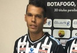 Atacante não faz parte dos planos e rescinde contrato com o Botafogo-PB