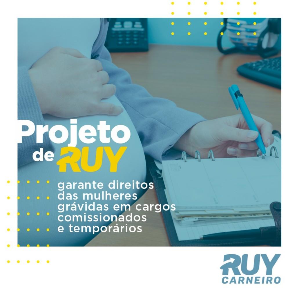 IMG 20191003 WA0102 - Projeto de Ruy garante direitos das mulheres grávidas em cargos comissionados e temporários