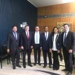 IMG 0269 800x600 - Rodrigo Maia empossa os paraibanos Damião Feliciano e Heron Cid no Conselho de Comunicação da Câmara Federal