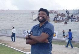 Após conseguir o acesso, treinador renova com o clube até o Paraibano de 2020