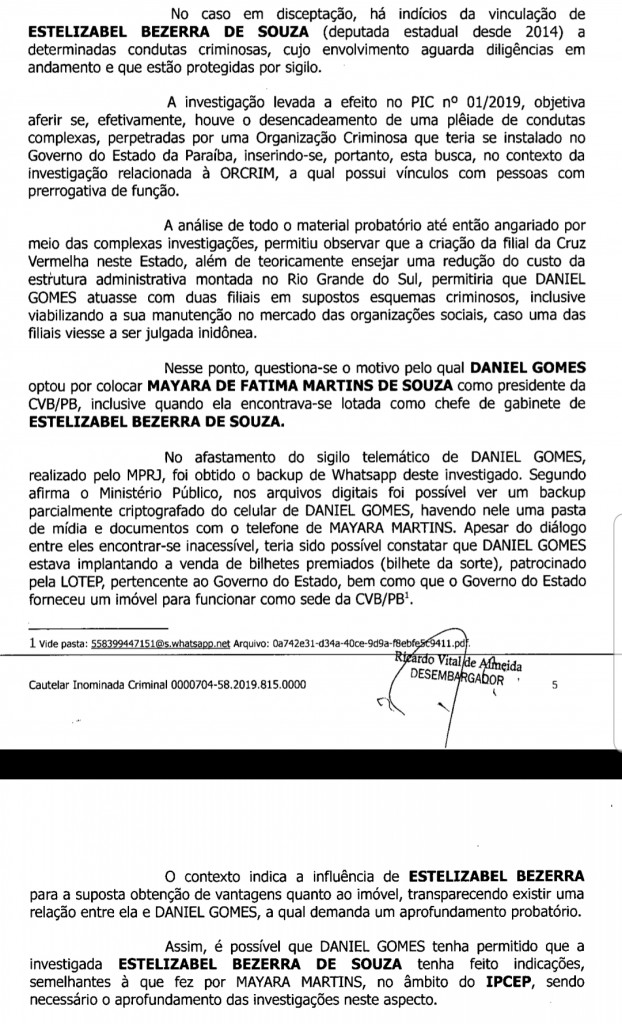 Screenshot 20191015 171107 Drive - Em nova fase, Operação Calvário mira investigação na deputada Estela Bezerra