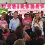 WhatsApp Image 2019 10 14 at 10.54.08 - Drª Paula participa do lançamento da campanha 'Outubro Rosa' em Cajazeiras