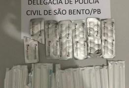 Polícia Civil prende dona de farmácia suspeita de venda ilegal de medicamento abortivo, em São Bento