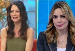 Após polêmica, Ana Paula Padrão manda recado para apresentadora paraibana Rachel Sheherazade