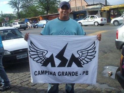 andre 300x225 - Folião homenageia Campina Grande e relembra carnaval fora de época