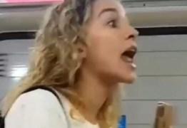 Atriz da Globo expulsa homem de vagão feminino do metrô – VEJA VÍDEO