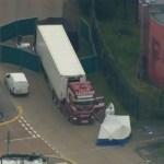 caminhao - Polícia encontra 39 corpos dentro de caminhão baú em propriedade industrial