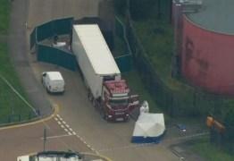 Polícia encontra 39 corpos dentro de caminhão baú em propriedade industrial