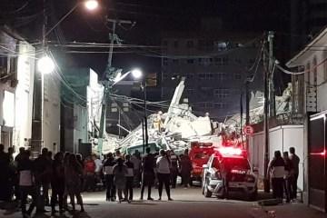 desabamento rafaela duarte svm - Após desabamento do Edifício Andrea, duas mortes são confirmadas