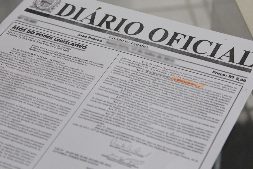 diario oficial da pb 2 walla santos - 189 VAGAS: Governo do Estado divulgada edital para contratação de servidores temporários