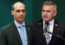 Eduardo Bolsonaro tira Julian Lemos da CPMI da Fake News
